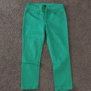 Gap kelly green jeans
